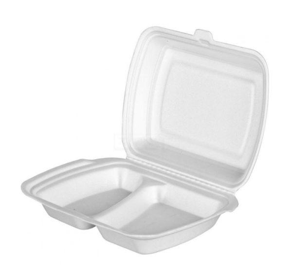 Lunch box EPS LB-2 250 х 206 х 65 mm (100 kos/pak)