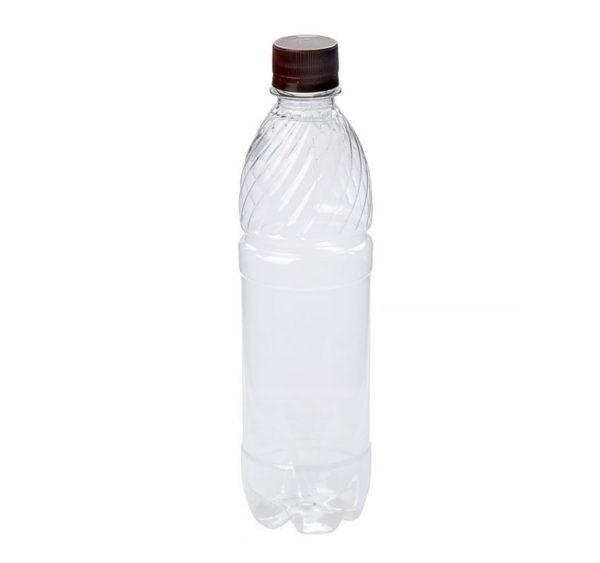 Plastenka z pokrovčkom 500 ml (10 kos/pak)