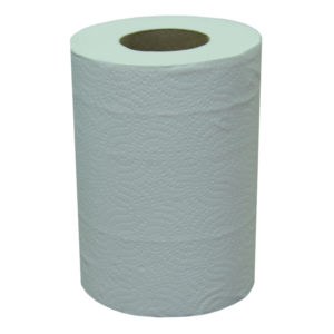 Papirnate brisače 2 sl 60 m ToMoS bele centralna ekstrakcija