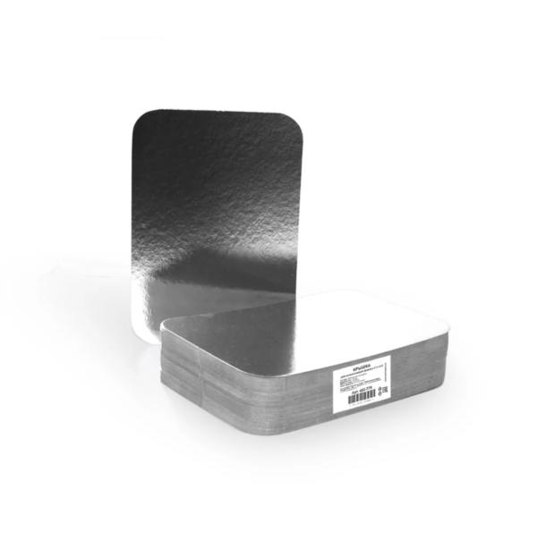 Alu posoda s pokrovom 218х156х38mm, 880ml, 50 kos (komplet)