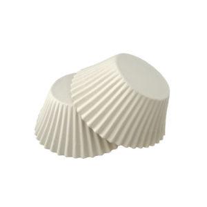 Papirčki za muffine d=55 mm h=42,5 mm beli (1000 kos/pak)