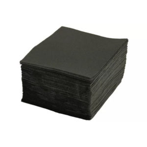 Papirnati prtički 1 sl 24×24 cm Tambien črni 400 kom/pak