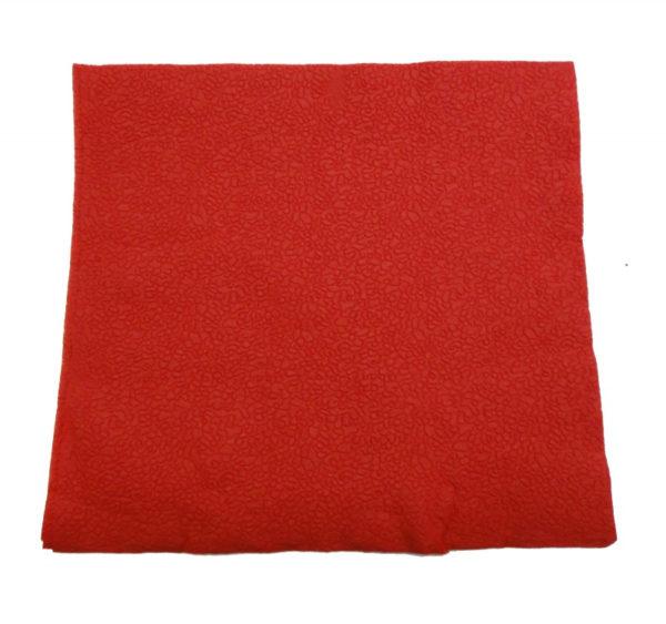 Papirnati prtički 2 sl 24×24 cm Tambien rdeče 250 kos/pak