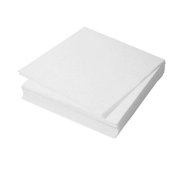 Papirnati prtički 1 sl 25х25 cm Tambien beli 100 kos/pak