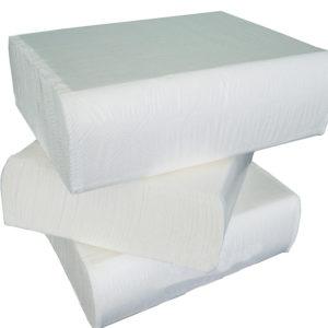 Papirnate brisače V 2 sl 200 l/pak Tomos bele