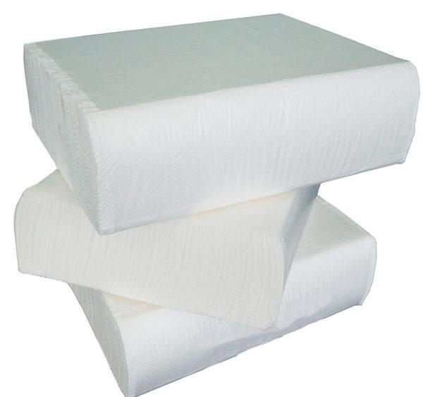 Papirnate brisače Z 2 sl 200 l/pak Tomos bele