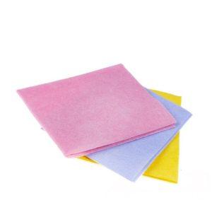 Viskozna krpa univerzalna 30×38 cm roza 3 kos/pak