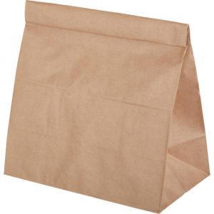 Vrečka papirnata  220х120х290mm, kraft (1000 kos/pak)