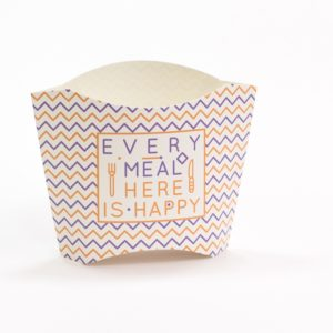 Žepek za krompirček 34x75x102 mm Happy Life (800 kos/pak)