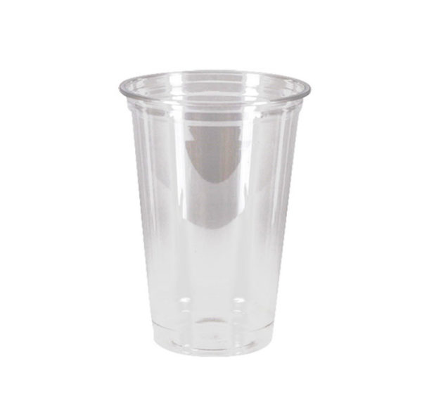 Kozarec PET 500 ml d=95 mm prozoren (50 kos/pak)
