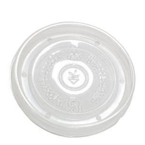 Papirnata posodica za juho 300 ml kraft s pokrovom 50 kos (komplet)