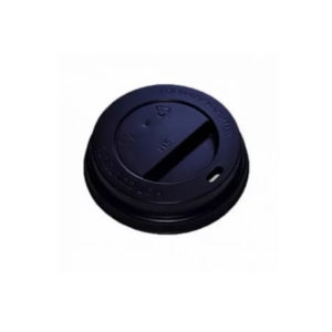 Pokrov z luknjo PS d=62 mm črn (100 kos/pak)
