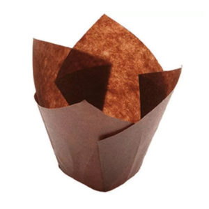 Papirni kalup Tulip 150/50, 200 kos/ pak, rjava