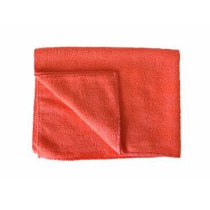 Krpa iz mikrovlaken za tla 50×80 cm rdeča