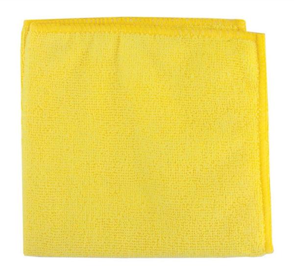 Krpa iz mikrovlaken za tla 50×80 cm rumena