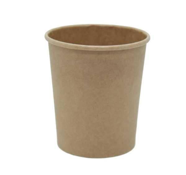 Papirnata posoda za juho Tambien ECO 440 ml d=97 mm h=100 mm kraft (25 kos/pak)