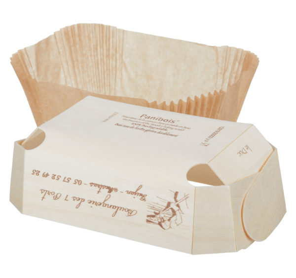Lesena posoda za peko DUC 175x110x60 mm (100 kos/pak)