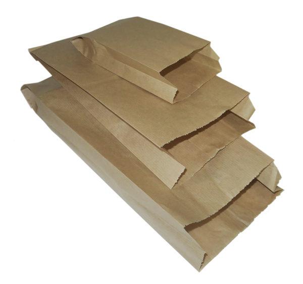 Papirnata vrečka 175x65x250 mm, kraft (3300 kos/pak)