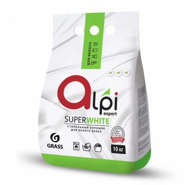 Pralni detergent 10 kg Alpi Exper GRASS za belo perilo  (125398)