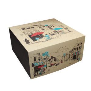 Škatla za torto 300х300mm 2kg Randevu (dno) (100 kos/pak)