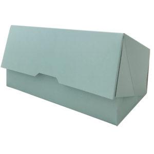 Škatla za sladico 200x110x70 mm turkizna (150 kos/pak)