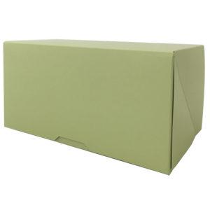 Škatla za sladico 200x120x100 mm meta (100 kos/pak)