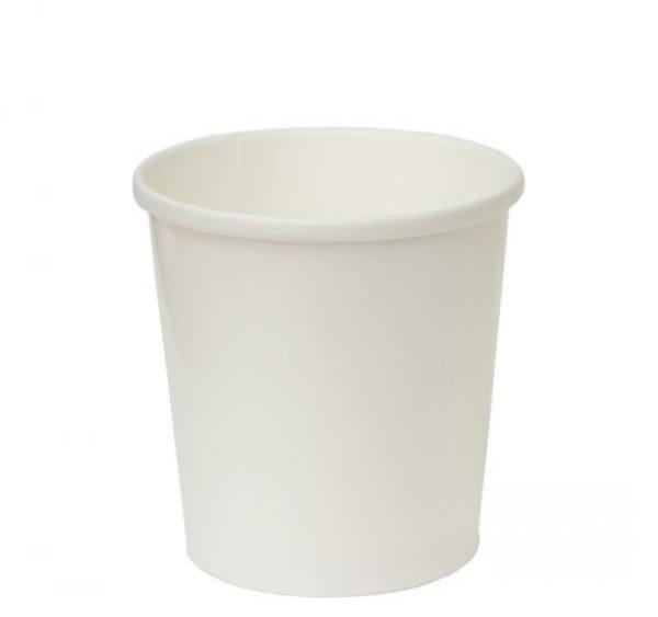 Papirnata posoda za juho Tambien ECO 440 ml d=97 mm h=100 mm bela (25 kos/pak)