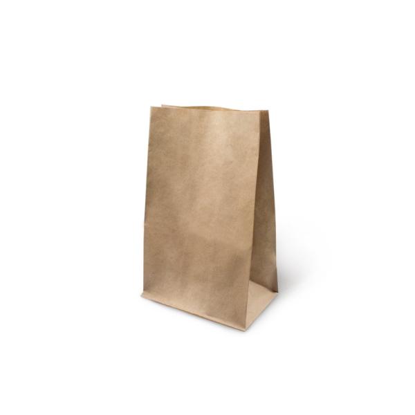 Papirnata vrečka 180x120x290 mm kraft (1000 kos/pak)