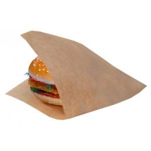 Vrečka za hamburger SANDWICH BAG L 170x170x60 mm