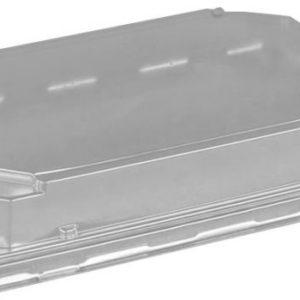 Posodica SUŠI s pokrovom PET 183 x 128 x 25 mm, 420 kos (komplet)