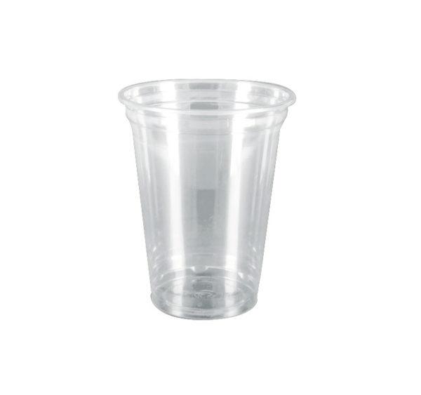 Kozarec PET 420 ml d=95 mm prozoren (50 kos/pak)