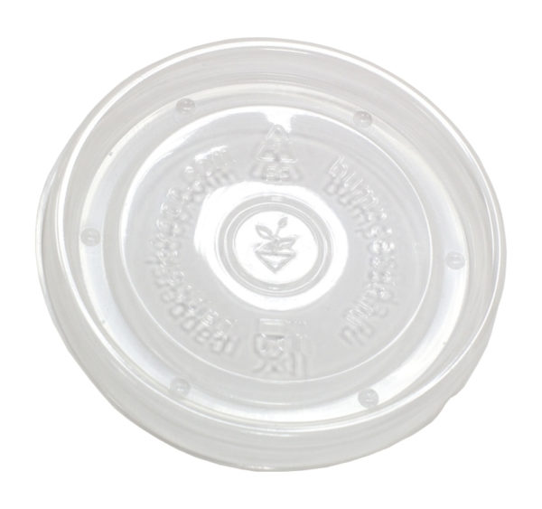 Papirnata posodica za juho s pokrovom 300 ml kraft, 500 kos (komplet)