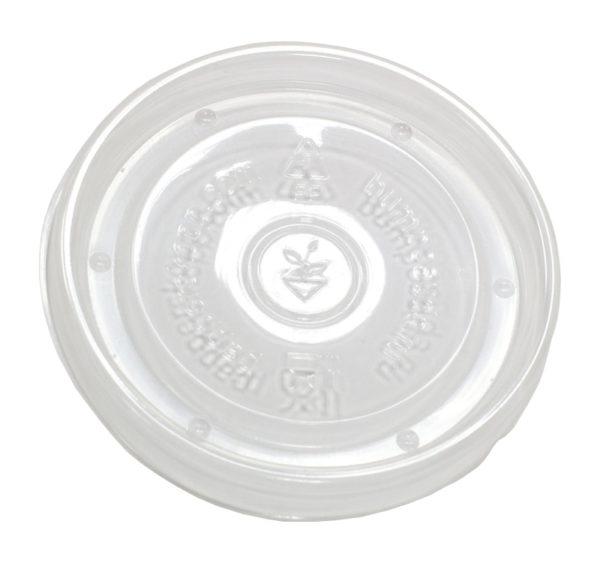 Papirnata posodica s pokrovom Fiesta za tople jedi 500 ml, d=98mm h=99mm, 200 kos (komplet)