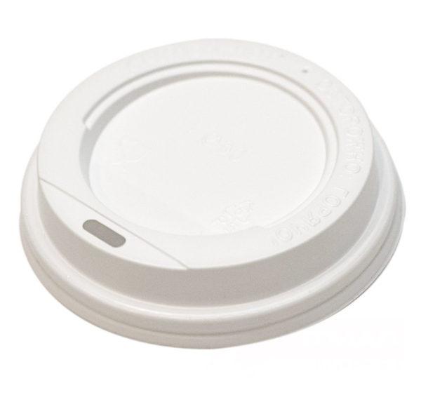 Pokrov z luknjo PS d=72 mm bel (100 kos/pak)