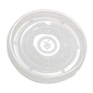 Papirnata posodica za juho s pokrovom 500 ml bela, 200 kos (komplet)