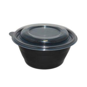 Posodica za juho s pokrovom PP 500 ml, 540 kos (zbirka)