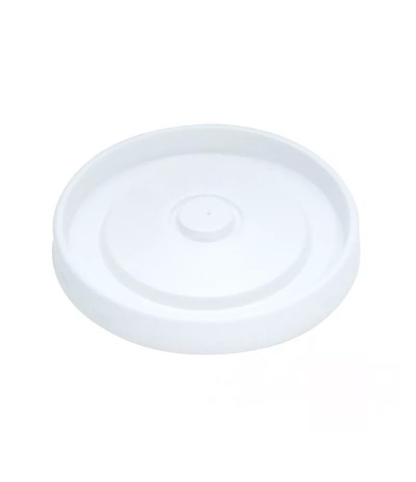 Kozarec stiropor 200 ml d=78 mm bel s pokrovom, 1950 kos (komplet)