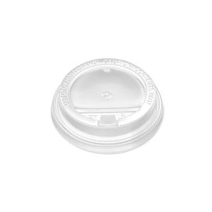 Pokrov z zaklopom PP d=90 mm bel (100 kos/pak)