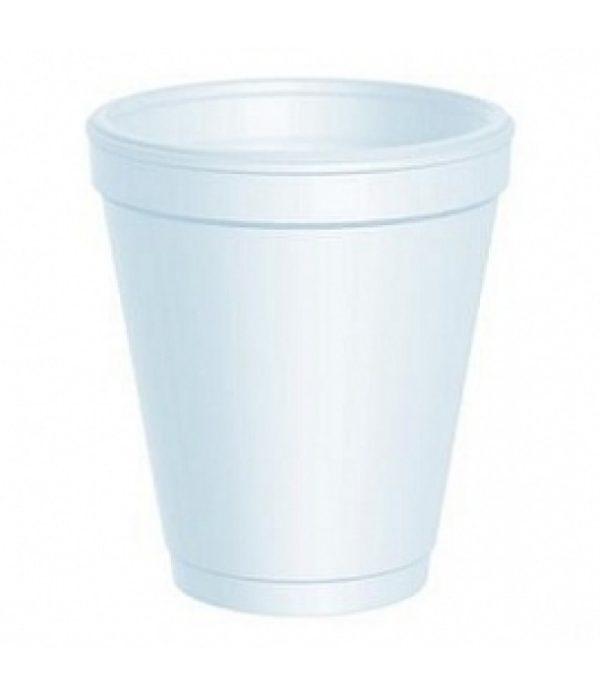 Kozarec stiropor 200 ml d=78 mm bel (975 kos/pak)