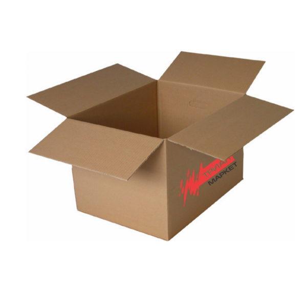 Transportna kartonska škatla 500x330x330 mm z logotipom TM