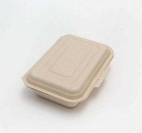 Embalaža PULP Tambien ECO 600 ml 185х130х40 mm bela (50 kos/pak)