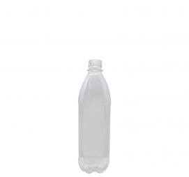 Plastenka s pokrovom PET 500 mld=28 mm prozorna (10 kos/pak)