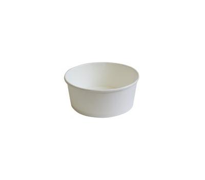 Papirnata skodelica 350 ml d=121 mm h=52 mm bela (30 kos/pak)