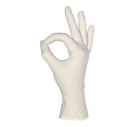 Rokavice latex brez pudra MediOk L 100 kos