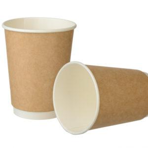 Papirnat kozarec 300 ml d=90 mm 2-slojni  Complement kraft (20 kos/pak)