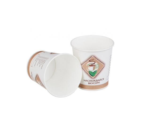 Papirnat kozarec 100 ml d=62 mm 1-slojni Coffee/čaj (25 kos/pak)