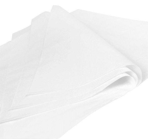 Ovojni papir za hamburgerje 380х260 mm bele, odporna na maščobo (1000 kos/pak)