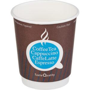 Papirnat kozarec 250 ml d=80 mm 2-slojni TQ (25 kos/pak)