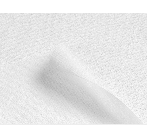 Krpa iz mikrovlaken 34×40 cm 40 kosov / paket MICROFIBER LIGHT WIPE Chicopee bela s tiskom (74737)