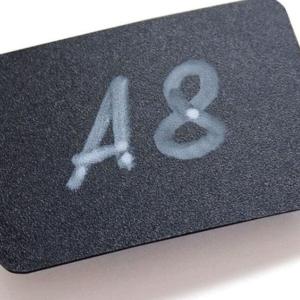 Črna tabla  A8 12 kos/pak